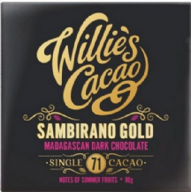 Willie's Cacao Madagascan Gold Sambirano 71% Dark Chocolate 80g